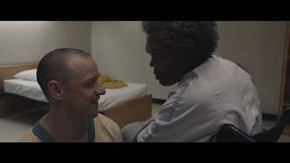 GLASS (2019) Clip: Mr. Glass arrives to break The Horde out of their hospital room