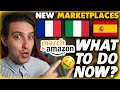 Merch By Amazon New Marketplaces France Italy Spain - What To Do Now? Strategies For Every Tier 🤑