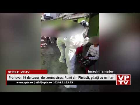Prahova: 66 de cazuri de coronavirus. Romi din Ploiești, păziți cu militari