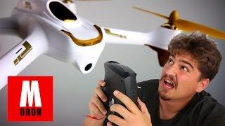ESTE DRONE ME SIGUE!!!!: Vuelo Hubsan H501S x4 en español