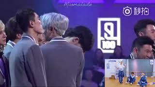 偶像练习生 - Idol Producer Trainees reaction to VCR - Ending