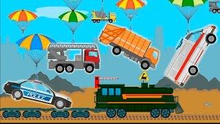 Мультик Машинки Для детей! Полицейская машина Скорая помощь у видео для детей! Мультфильмы 2017!