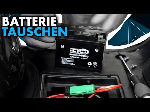 Anleitung: Roller Batterie tauschen