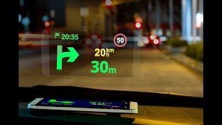 Sygic GPS Navigation Head-up Display (HUD)