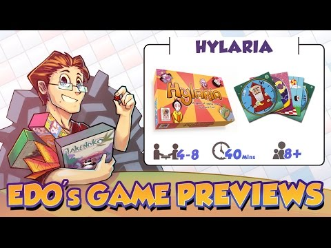 Edo's Hylaria Card Game Review (KS Preview)