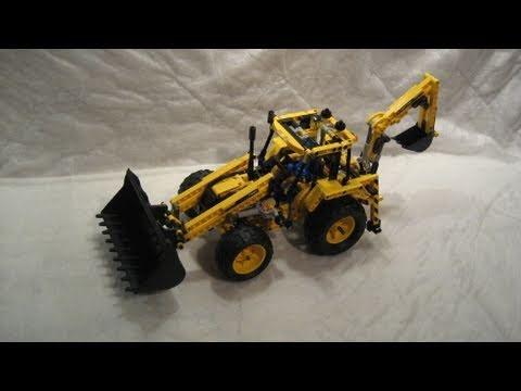 Vidéo LEGO Technic 8069 : La pelleteuse