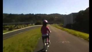 preview picture of video 'Ride to Lower Hutt River Bank market Timelapse'