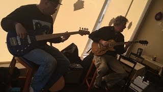 preview picture of video 'Neal Wyms & David K Thomas ~ Jammin' at Radford City Grill'