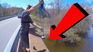Video Magnet Fishing With A 1000lb Magnet From an Old Bridge MP3, 3GP, MP4, WEBM, AVI, FLV Agustus 2019