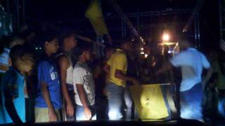preview picture of video 'Aguilas Cibaeñas after-party at the Monumento in Santiago de los Caballeros, Dominican Republic.'