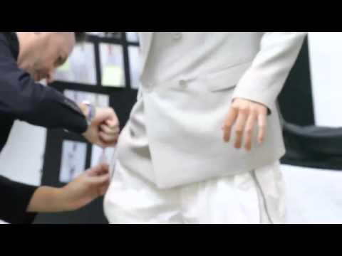 Behind the Scenes - ck Calvin Klein Spring 2011 - презентация одежды Calvin Klein