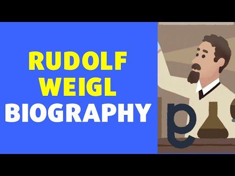 Rudolf Weigl Biography in English