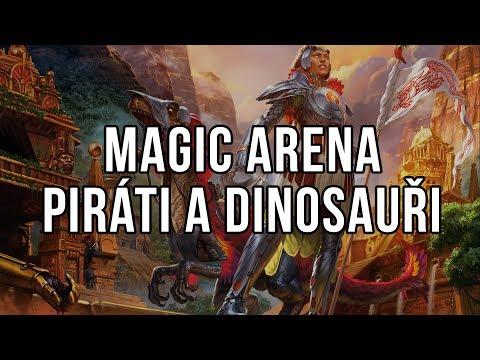 Magic Arena - Dinosauři a Piráti