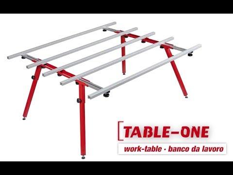 Раскладной стол для крупноформатной плиты TABLE ONE