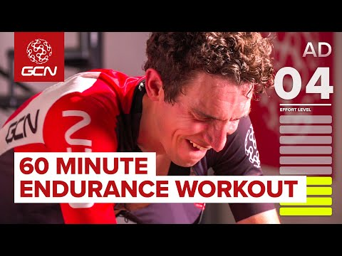 Indoor Cycling Workout | 60 Minute Endurance Intervals: Fitness Training
