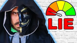 IS JUSTIN REALLY the CLOAKER? The Truth Behind the Face Reveal using a Lie Detector Test