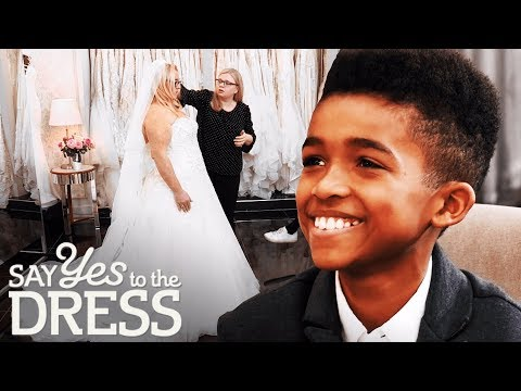 Bride Brings Her Son To Her Wedding Dress Fitting | Say Yes To The Dress UK Mp3