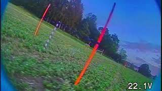 [FPV Racing Comparison] Last pack of the day with sunset in the end