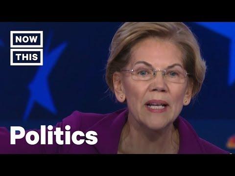 Elizabeth Warren Explains Her Wealth Tax at the Democratic Debate   NowThis