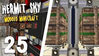 Hermit Sky: 24   DIGITAL LIMITS   Modded Minecraft - Самые