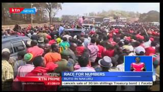 President Uhuru pitches tent in Tharaka Nithi in an effort to mobilize voters