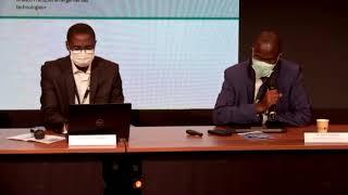 présentation de la chaire Alain kiyindou et damonne Etienne