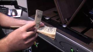 SR301: Automatic scanning of a fragile chinese booklet