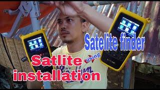 #SATLITE #Satelite #Finder  Satlite installation using Satlink