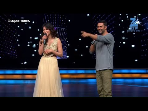 Akshay Kumar and Shruti Haasan had a blast on the sets of Zee TV's DID Supermoms