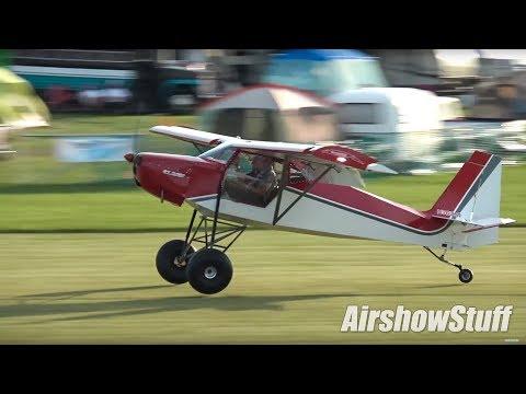 Ultralight Field Chaos! - Fixed Wing/STOL Flying - EAA AirVenture Oshkosh 2017