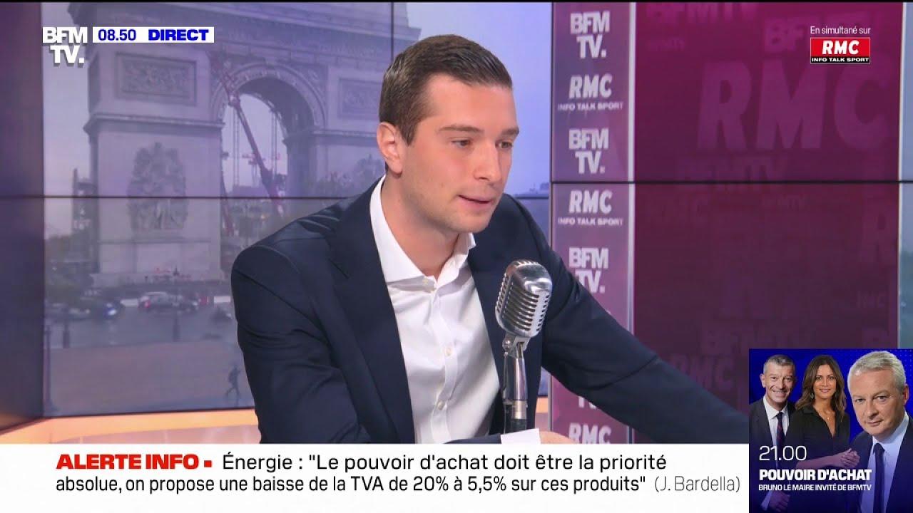 """Bardella : """"Le duel Le Pen-Zemmour arrange"""""""