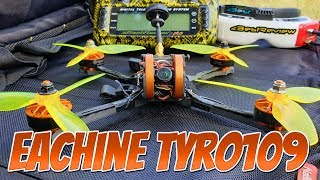 ✔ Полеты на Eachine Tyro109 - Бюджетный FPV Квадрокоптер! 97$ Лето 2019