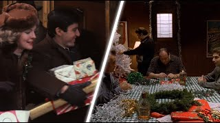 Świąteczny motyw w gangsterskich filmach i serialach