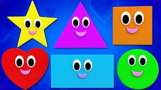 Shapes Song Nursery Rhymes Kids Songs Baby Rhymes kids tv S02 EP0278