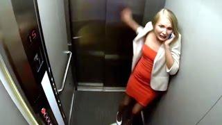Falling Elevator Prank