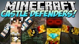 Minecraft | CASTLE DEFENDERS! (Create an Army!) | Mod Showcase [1.5.1]