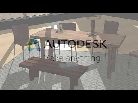 Revit 2019 Material Appearance Demonstration