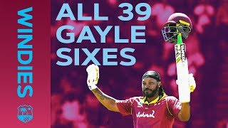 🔴LIVE STREAM ALL 39 Gayle Sixes vs England | Windies Finest