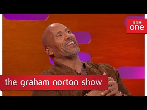 Dwayne Johnson raps his character's song from Moana - The Graham Norton Show  - BBC