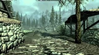Заморозки в Скайриме - влияние погоды и температуры на героя