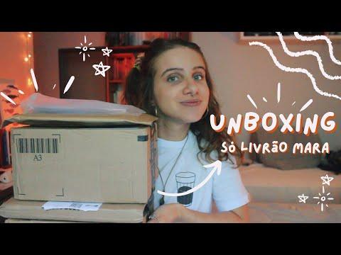 unboxing: livros novos e novos autores | 2021