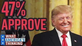 47% Of Americans Approve Of Donald Trump's Job As President