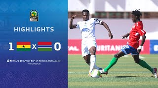 CAN U20 2021​ | Demi Final : Ghana 1-0 Gambia