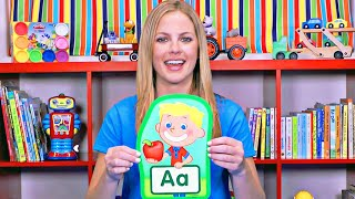 Learn The Alphabet - Learning ABCs & Letter Sounds - Fun & Educational Organic Learning