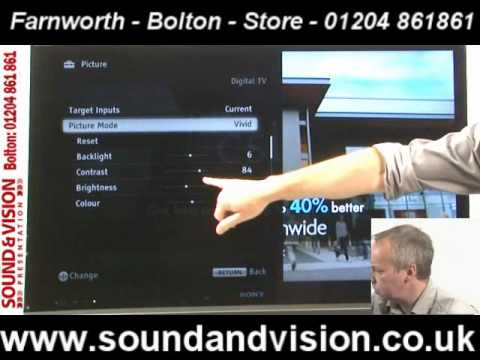 Sony KDL-60NX723(KDL60NX723)Video Review-Bravia 3D LED TV