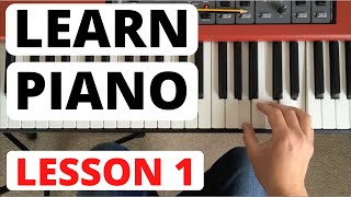 How To Play Piano for Beginners, Lesson 1 || The Piano Keyboard