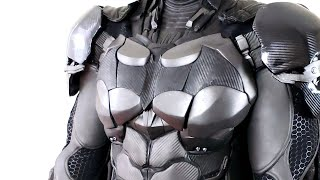 NEW BATMAN SUIT COSTUME COSPLAY REAL LIFE REPLICA FROM ARKHAM KNIGHT MADE BY NAYTHERO