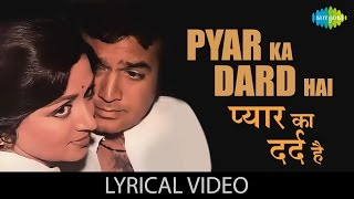 Pyar Ka Dard Hai with lyrics | प्यार का   - YouTube