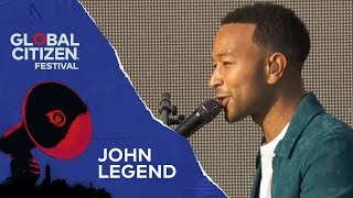 John Legend Performs Preach | Global Citizen Festival NYC 2018