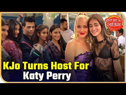 Karan Johar Turns Host For B-town Celebs And Katy Perry | Saas Bahu Aur Saazish
